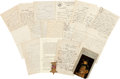 Miscellaneous, Union Soldier Benjamin Church Letter Group, Together with Post WarImages, and His GAR Medal....
