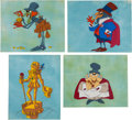 Animation Art:Concept Art, The Happy Prince Character Design Concept Drawing and Cel Group of 24 (DePatie-Freleng, c. 1970s).... (Total: 24 Items)
