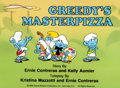 "Animation Art:Production Cel, The Smurfs ""Greedy's Masterpizza"" Cel Setup (Hanna-Barbera,1989).... (Total: 3 )"