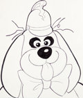 Animation Art:Production Drawing, The Banana Splits Show Head-Shot Illustrations Group of 4(Hanna-Barbera, 1968).... (Total: 4 Original Art)