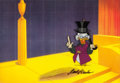 Animation Art:Production Cel, Scrooge McDuck and Money Uncle Scrooge Production Cel (WaltDisney, 1967)....