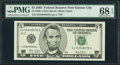 Small Size:Federal Reserve Notes, Fr. 1990-J $5 2003 Federal Reserve Note. PMG Superb Gem Unc 68 EPQ.. ...
