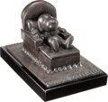 "Animation Art:Maquette, Stan Pawlowski - Snoopy/Peanuts ""Retired"" Bronze Statue #69/500 and Limited Edition Mini-Bronze Collection #178/7500 (United F... (Total: 2 Items)"