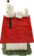 Animation Art:Maquette, Peanuts Snoopy on his Doghouse Sculpture (United FeaturesSyndicate/Austin Sculpture, 1980-90s)....