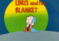 """Animation Art:Production Cel, The Charlie Brown and Snoopy Show """"Linus and the Blanket""""Linus Title Production Cel (Bill Melendez, 1983).... (Total: 2Original Art)"""