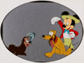 Animation Art:Production Cel, Mickey and the Seal Mickey Mouse, Pluto, and Seal ProductionCel (Walt Disney, 1948)....