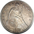 Seated Dollars: , 1859-S $1 AU58 NGC. Of the 20,000 coins that inaugurated silverdollar production at the San ...