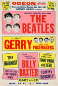 Music Memorabilia:Posters, Beatles Southport Odeon Concert Poster (UK, 1963)....