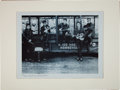 Music Memorabilia:Photos, Beatles - Limited Numbered Print of Band as Five Piece and Signedby Astrid Kirchherr (1960)....