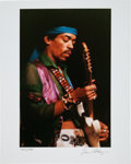 Music Memorabilia:Photos, Jimi Hendrix Limited Edition Artist's Proof Photo Print by GeneAnthony. ...
