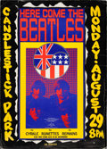 Music Memorabilia:Posters, The Beatles Final Concert Candlestick Park Poster (1966). ...