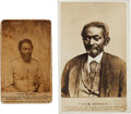 Photography:CDVs, Civil War Carte de Visite of Nick Biddle First Man Wounded,...
