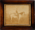 Photography:Cabinet Photos, Robert E. Lee: Lee & Traveller Oversized Albumen Gifted to General Roger Pryor....