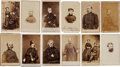 Photography:CDVs, Cartes de Visite: Lot of 12 Identified Union General Officer Images.... (Total: 12 )