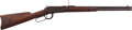 Long Guns:Lever Action, Winchester Model 1894 Lever Action Saddle Ring Carbine with Leather Scabbard....