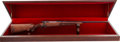 Long Guns:Bolt Action, Boxed Engraved Winchester Model 70 Featherweight Ultra Grade BoltAction Rifle....
