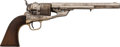 Handguns:Single Action Revolver, Richards Conversion Colt Model 1860 Army Single Action RevolverEngraved to Nicholas M. Nolan, Major, 10th U.S. Cavalry Regime...