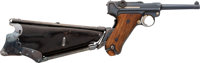 DWM American Eagle Luger Semi-Automatic Pistol with Ideal Luger Stock