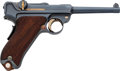 Handguns:Semiautomatic Pistol, Swiss Shield Marked DWM Luger Semi-Automatic Pistol....