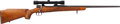 Long Guns:Bolt Action, Custom Unmarked Bolt Action Rifle with Telescopic Sight....