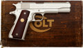 Handguns:Semiautomatic Pistol, Boxed Colt Government Model Louisiana Purchase Commemorative Semi-Automatic Pistol with Factory Letter....