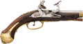 "Handguns:Muzzle loading, 18th Century Italian Snaphaunce Marked ""Pistoia""...."