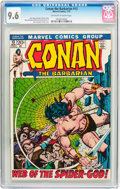 Bronze Age (1970-1979):Adventure, Conan the Barbarian #13 (Marvel, 1972) CGC NM+ 9.6 Off-white to white pages....