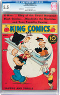 Platinum Age (1897-1937):Miscellaneous, King Comics #13 (David McKay Publications, 1937) CGC FN- 5.5Off-white to white pages....