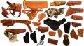 Arms Accessories:Holsters, Large Lot of Assorted Holsters and Accoutrements....