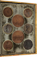 Military & Patriotic:Foreign Wars, Cased Set of Napoleonic Medals Engraved by Bertrand Andrieu Made For the British Market After the Fall of Napoleon, Circa 1815... (Total: 10 Items)
