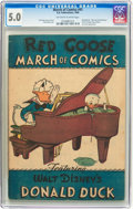 Golden Age (1938-1955):Funny Animal, March of Comics #41 Donald Duck (K. K. Publications Inc., 1949) CGCVG/FN 5.0 Off-white to white pages....