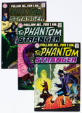 Bronze Age (1970-1979):Horror, The Phantom Stranger #1-41 Complete Series Group (DC, 1969-76)Condition: Average FN+.... (Total: 41 Comic Books)