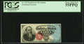 Fractional Currency:Fourth Issue, Fr. 1376 50¢ Fourth Issue Stanton PCGS Choice About New 55PPQ.. ...