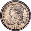 Bust Dimes, 1833 10C JR-3, R.6 -- Improperly Cleaned -- NCS. AU Details....