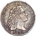 Early Half Dimes, 1794 H10C V-3, LM-3, R.4 -- Graffiti -- PCGS Genuine. XFDetails....