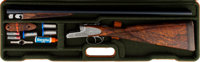 Cased Beretta 470 EELL Jubilee Sideplated Boxlock Double Barrel Shotgun