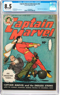 Golden Age (1938-1955):Science Fiction, Captain Marvel Adventures #55 (Fawcett Publications, 1946) CGC VF+8.5 Off-white to white pages....