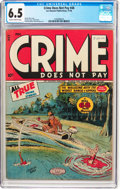 Golden Age (1938-1955):Crime, Crime Does Not Pay #48 (Lev Gleason, 1946) CGC FN+ 6.5 Slightly brittle pages....