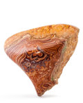 Lapidary Art:Carvings, Wave Dolomite. Mexico. 4.92 x 4.13 x 2.41 inches (12.50 x 10.50x 6.12 cm). ...