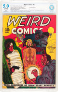 Golden Age (1938-1955):Horror, Weird Comics #2 (Fox Features Syndicate, 1940) CBCS Restored(Slight) VG/FN 5.0 Off-white pages....
