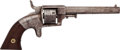 Handguns:Single Action Revolver, Bacon Mfg. Co. Single Action Pocket Revolver....