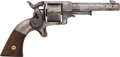 Handguns:Single Action Revolver, Unmarked Sidehammer Single Action Revolver....