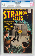Silver Age (1956-1969):Horror, Strange Tales #63 (Atlas, 1958) CGC VG+ 4.5 Off-white pages....