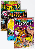 Silver Age (1956-1969):Horror, Tales of the Unexpected Group of 9 (DC, 1966-68) Condition: AverageVF+.... (Total: 9 Comic Books)