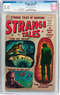 Strange Tales #44 (Atlas, 1956) CGC VG/FN 5.0 Off-white to white pages