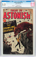 Silver Age (1956-1969):Horror, Tales to Astonish #22 (Marvel, 1961) CGC FN- 5.5 Off-white to whitepages....