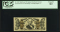Fractional Currency:Third Issue, Fr. 1341 50¢ Third Issue Spinner PCGS Choice New 63.. ...