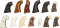 Arms Accessories:Tools, Lot of Eleven Pairs of Grips.... (Total: 11 )