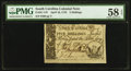 Colonial Notes:South Carolina, South Carolina April 10, 1778 5s PMG Choice About Unc 58 EPQ.. ...