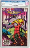 Silver Age (1956-1969):Adventure, The Brave and the Bold #33 Cave Carson (DC, 1961) CGC VG/FN 5.0 Off-white pages....